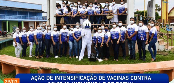 Ação de Intensificação de Vacinas Em Terra Santa