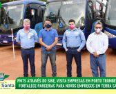 PMTS através do SINE, visita empresas em Porto Trombetas e fortalece parcerias para novos empregos.